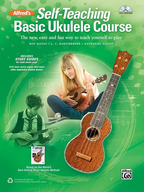 Alfred's Self-Teaching Basic Ukulele Course (Book/CD Set)