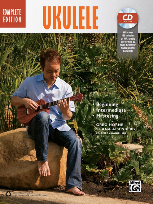 The Complete Ukulele Method, Complete Edition (Book/CD Set) by Greg Horne & Shana Aisenberg
