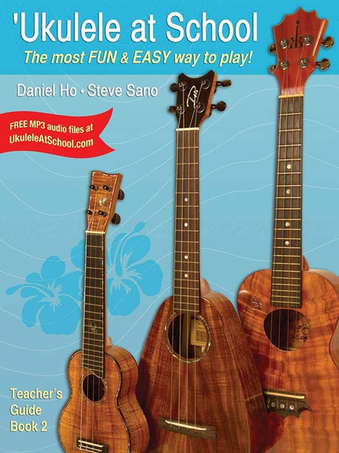 Ukulele at School, Book 2 - Teacher's Guide (with Online Audio Access)