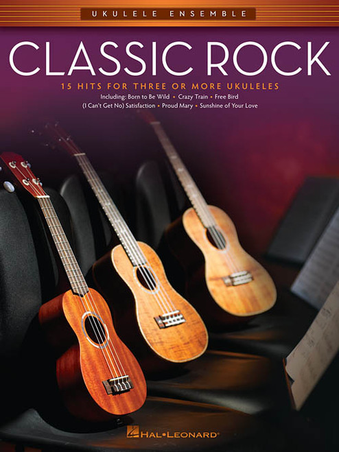 Classic Rock for Ukulele Ensemble