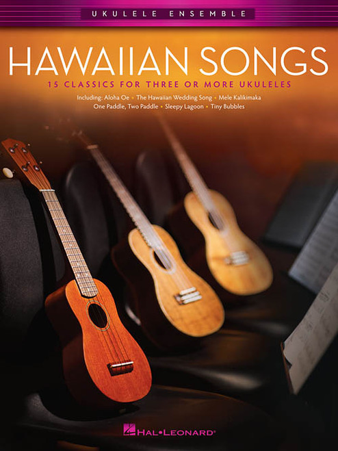 Hawaiian Songs for Ukulele Ensemble