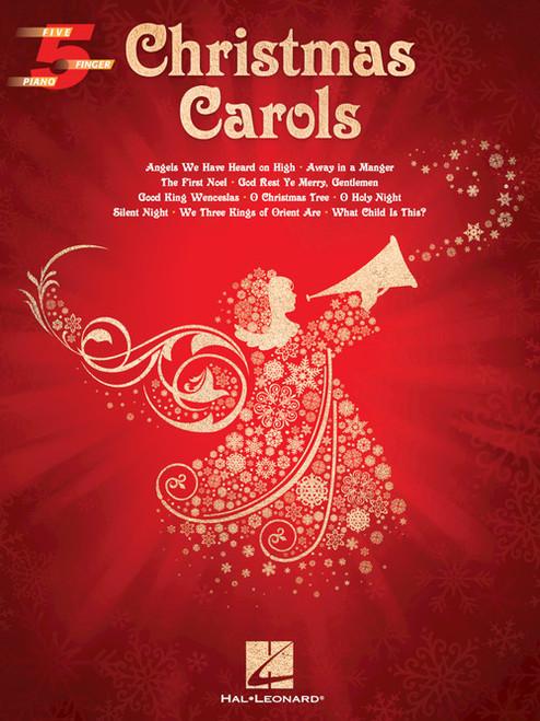 Christmas Carols - 5 Finger Piano Songbook