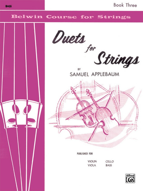 Duets for Strings Book 3 - Bass