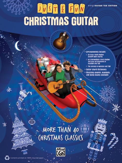 Christmas Guitar (Just for Fun) - Easy Guitar TAB Songbook