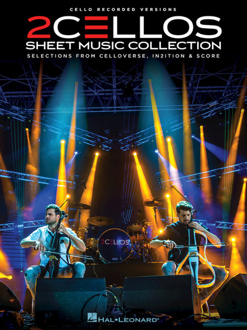 2CELLOS Sheet Music Collection - Cello Duet Songbook (Score & Parts)