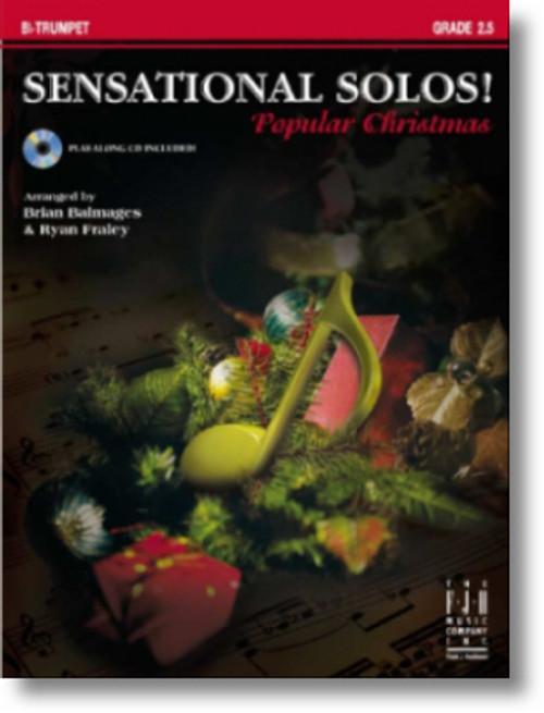 Sensational Solos! Popular Christmas for Eb Alto Saxophone Grade 2.5 (Book/CD Set)