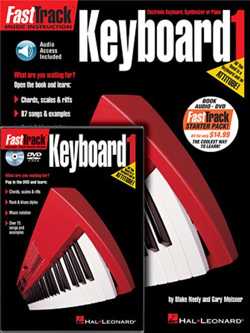 FastTrack Keyboard Method - Book 1 w/DVD