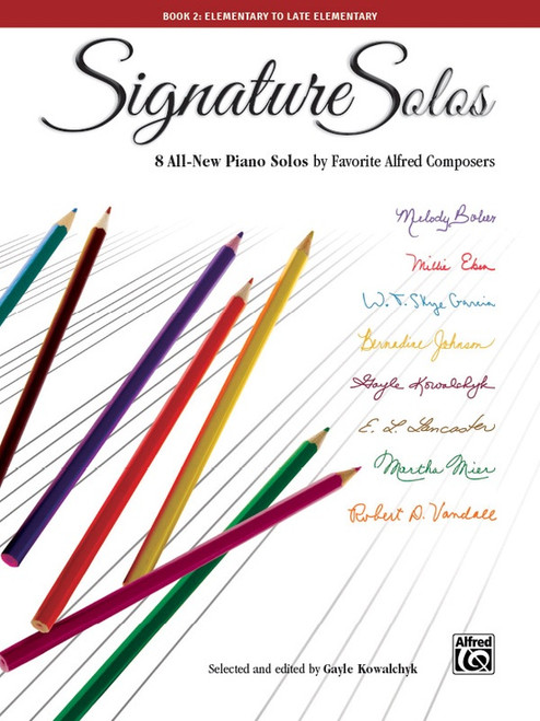 Signature Solos Book 2: Elementary to Late Elementary