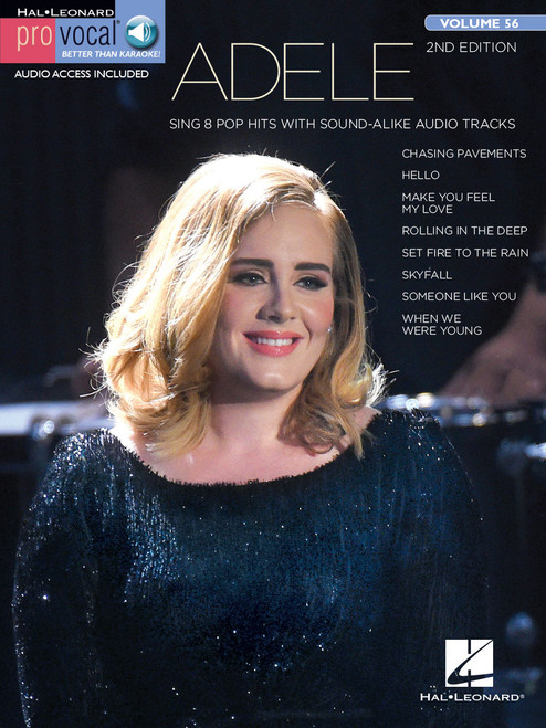 Adele Pro Vocal Vol. 56 (2nd Edition) - Vocal Songbook