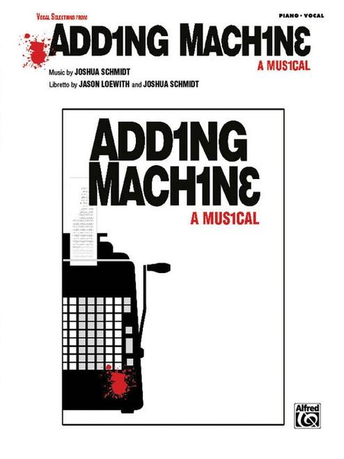 Adding Machine - Piano/Vocal