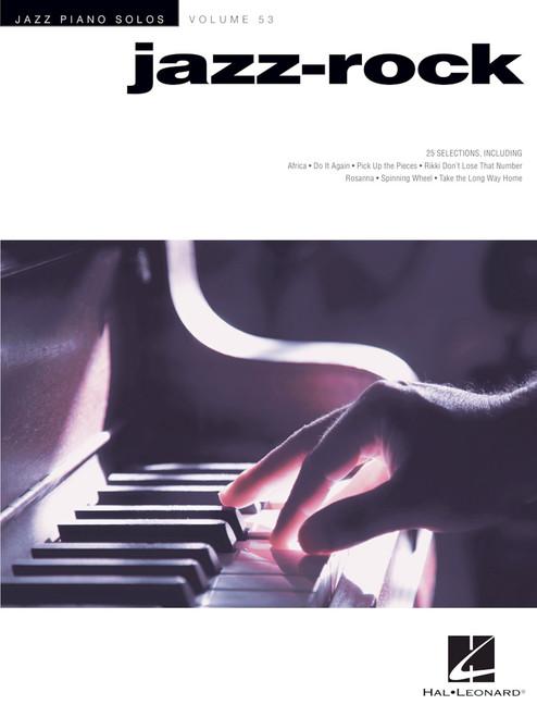 Jazz Piano Solos Volume 53 - Jazz-Rock for Intermediate to Advanced Piano