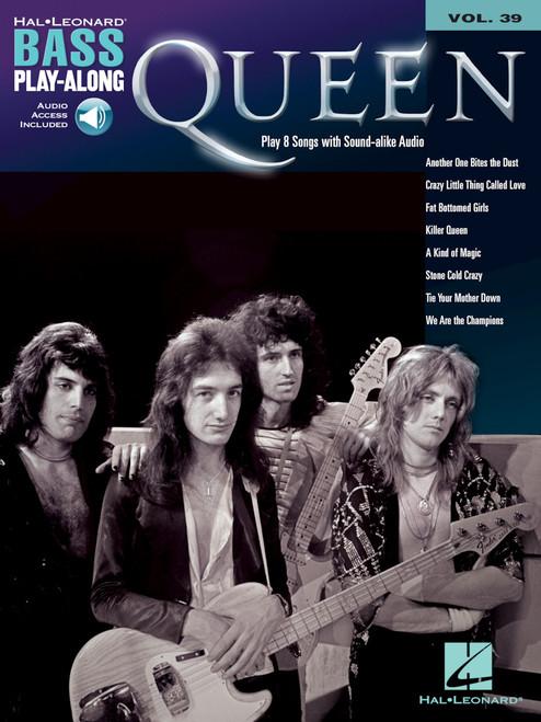 Queen for Bass Play-Along Volume 39