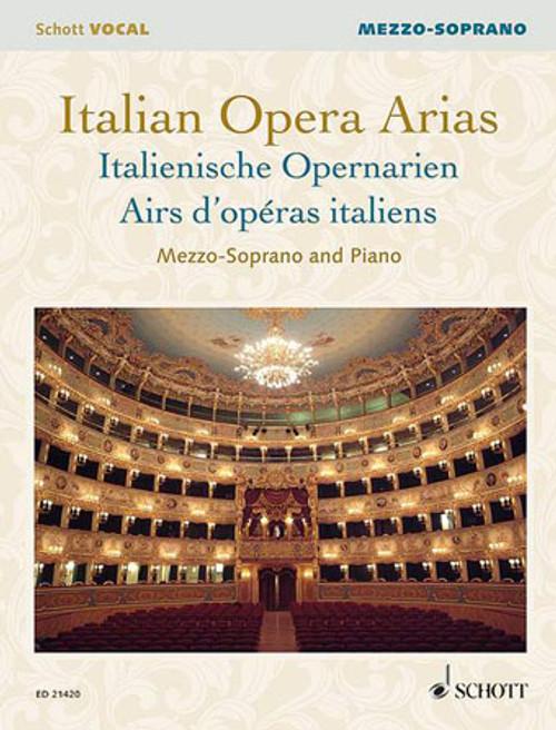 ITALIAN OPERA ARIAS Mezzo-Soprano (Schott Vocal Collection)