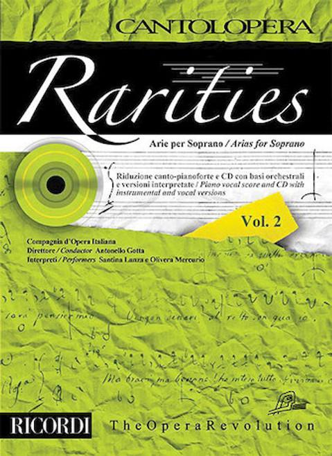 RARITIES – ARIAS FOR SOPRANO, VOLUME 2 Cantolopera Series