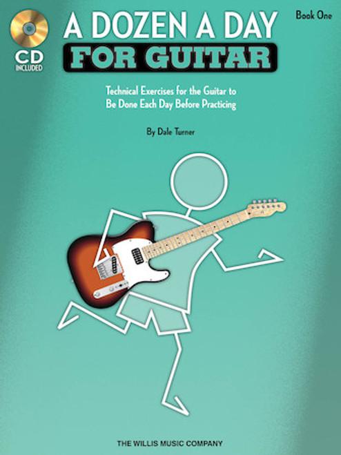A Dozen a Day for Guitar - Book 1 (Book/CD Set)