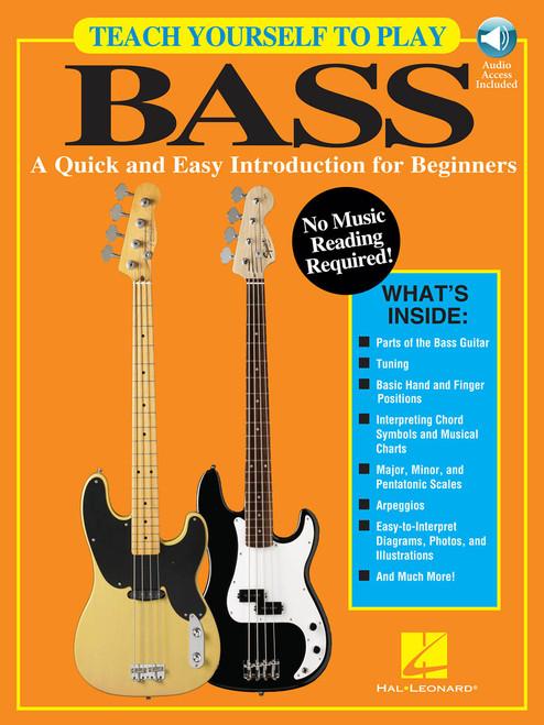 Teach Yourself to Play Bass (Book/Audio Set)