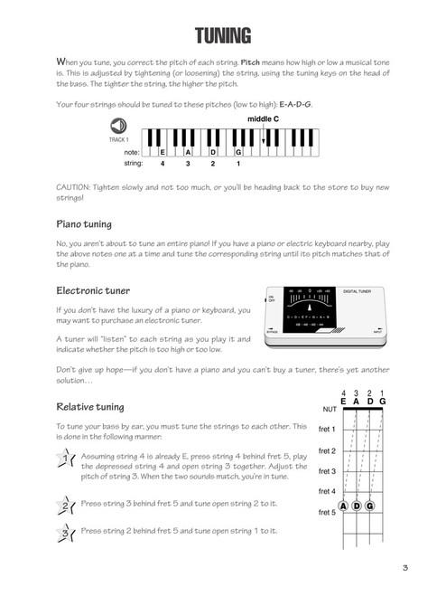 Fast Track Bass Book 1 (Book/Audio Set)