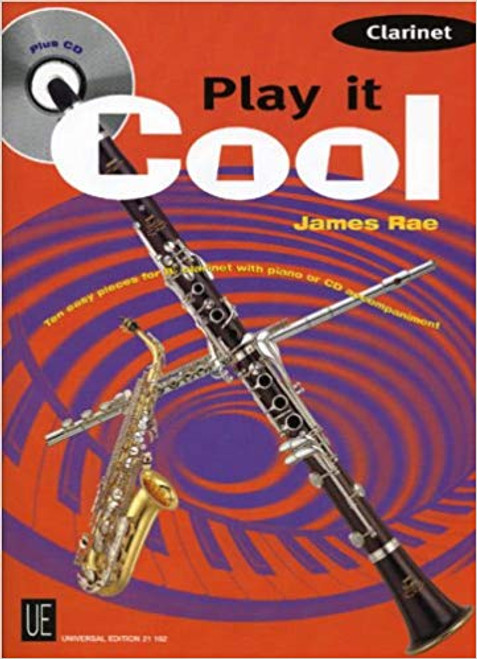 Play it Cool for CLarinet (Book/CD Set)