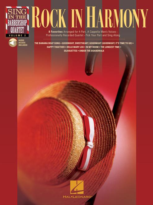 Rock In Harmony (Sing in the Barbershop Quartet Vol. 2) w/Audio