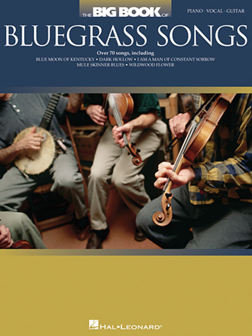 Big Book of Bluegrass Songs - Piano/Vocal/Guitar Songbook