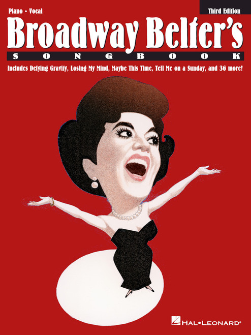 Broadway Belter's Songbook (3rd Edition) - Piano/Vocal Songbook