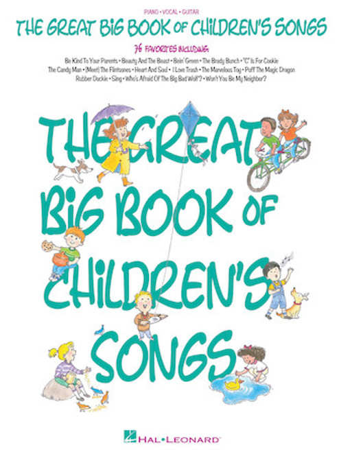 The Great Big Book of Children's Songs - Piano/Vocal/Guitar