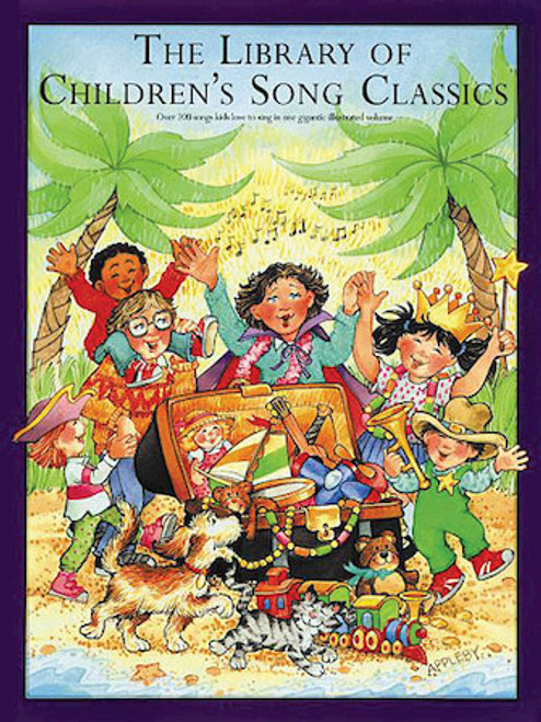 The Library Of Children's Song Classics - Piano/Vocal/Chords Illustrated Songbook