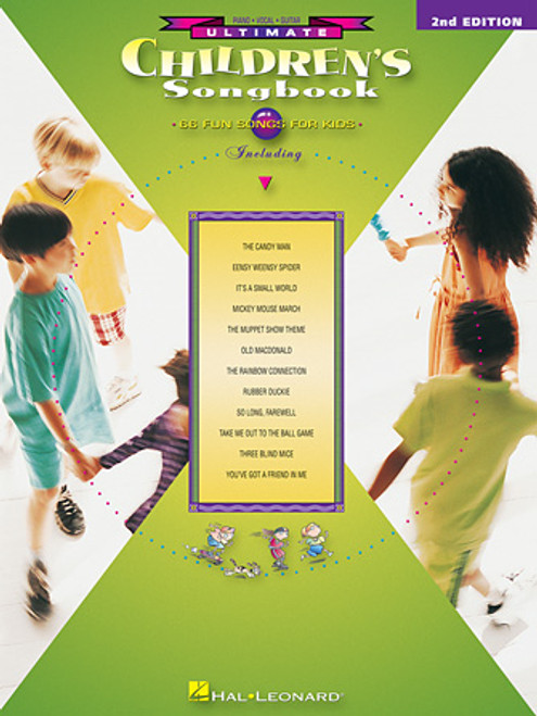 Ultimate Children's Songbook (2nd Edition) - Piano/Vocal/Guitar