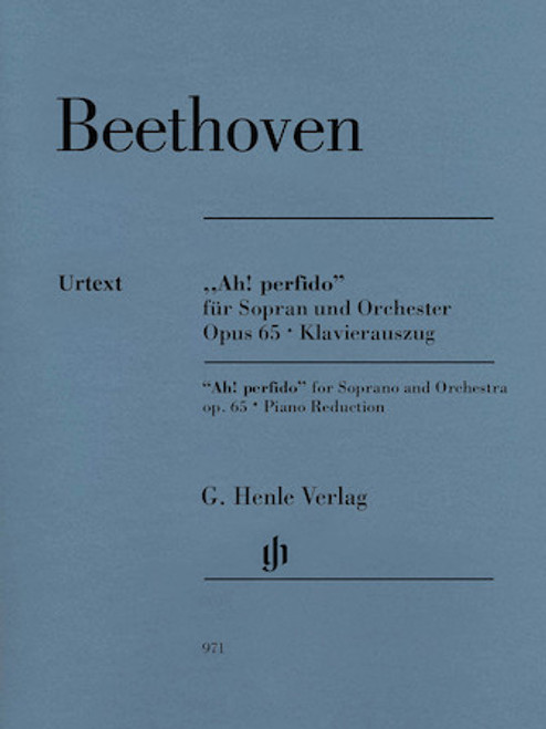 """Beethoven """"Ah! perfido"""" Op. 65 for Soprano and Orchestra"""