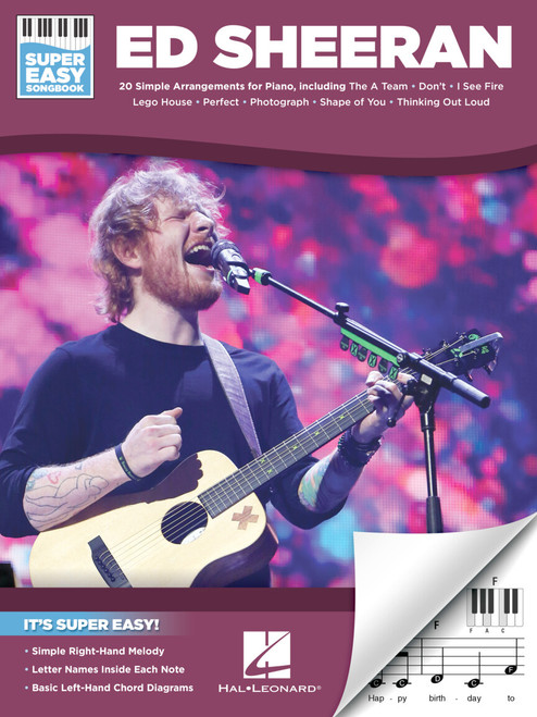 Ed Sheeran - Super Easy Songbook