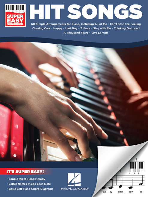Hit Songs - Super Easy Songbook for Keyboard