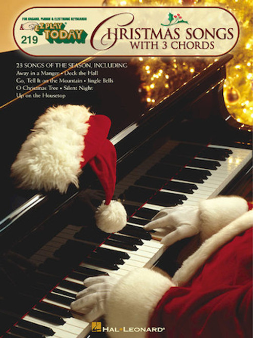 E-Z Play Today #219 - Christmas Songs with 3 Chords