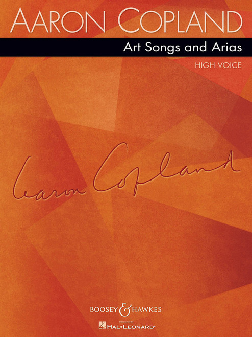 Aaron Copland Art Songs and Arias - High Voice