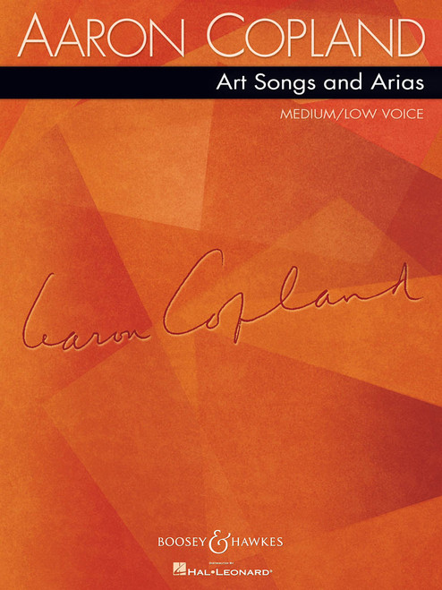 Aaron Copland Art Songs and Arias - Medium/Low Voice