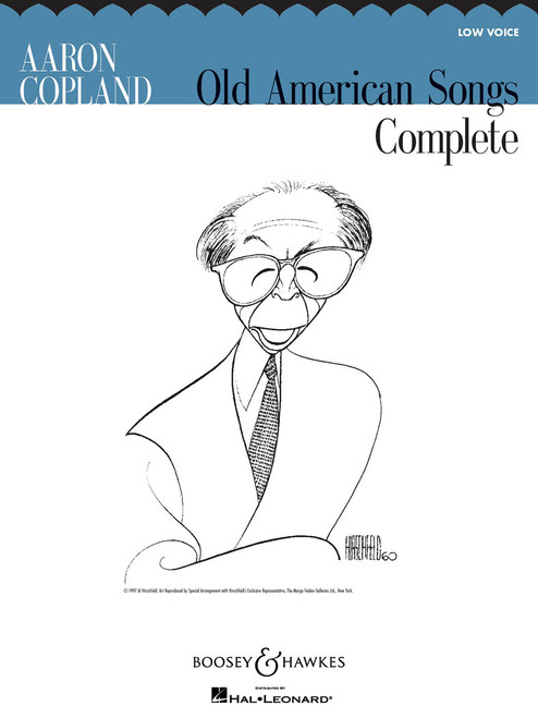 Aaron Copland Old American Songs Complete - Low Voice