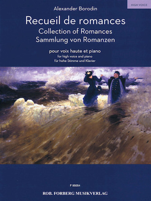 Alexander Borodin Collection of Romances for High Voice