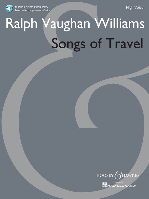 Ralph Vaughan Williams - Songs of Travel (High Voice) w/Audio Access
