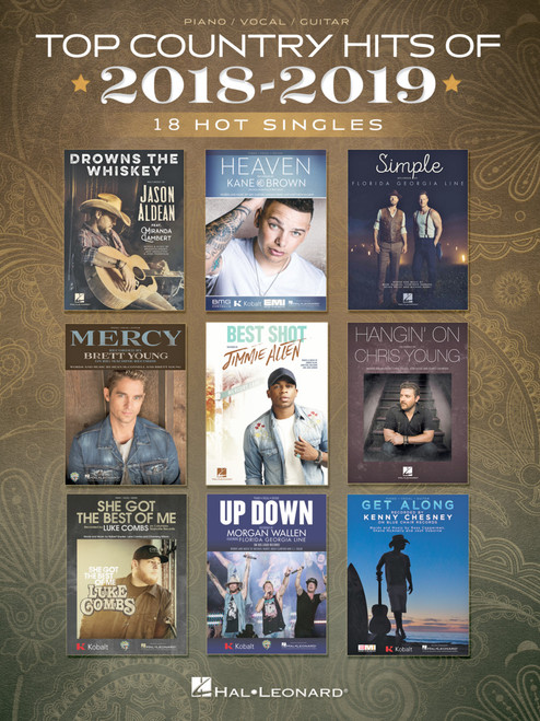 Top Country Hits of 2018-2019 - Piano/Vocal/Guitar