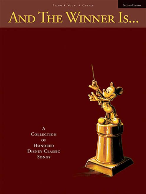And the Winner is... (A Collection of Honored Disney Classic Songs) Piano/Vocal/Guitar