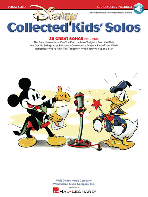 Disney Collected Kids' Solos w/Audio Access - Piano/Vocal/Chords