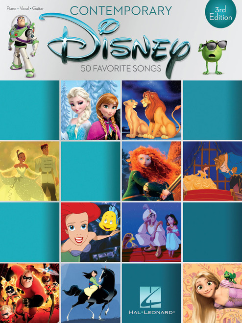 Contemporary Disney - 50 Favorite Songs (3rd Edition) - Piano/Vocal/Guitar