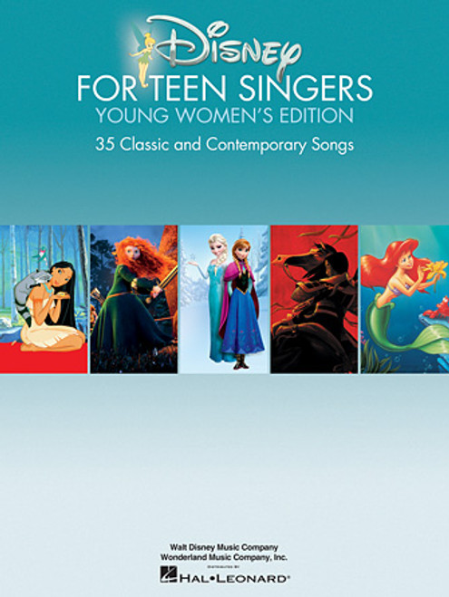 Disney for Teen Singers Young Women's Edition (30 Classic and Contemporary Songs) - Piano/Vocal/Chords