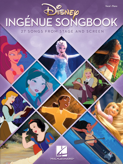 Disney Ingenue Songbook (27 Songs from Stage and Screen) - Piano/Vocal/Chords