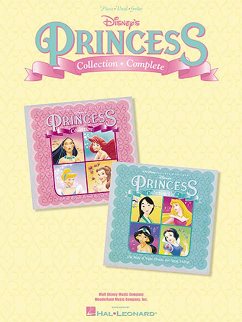Disney's Princess Collection (Complete) - Piano/Vocal/Guitar