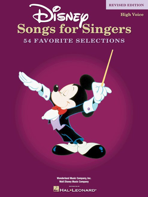 Disney Songs for Singers (High Voice) - Revised Edition