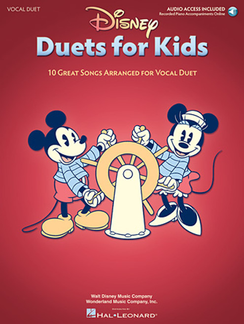 Disney Duets for Kids - Vocal Duet w/Audio Access
