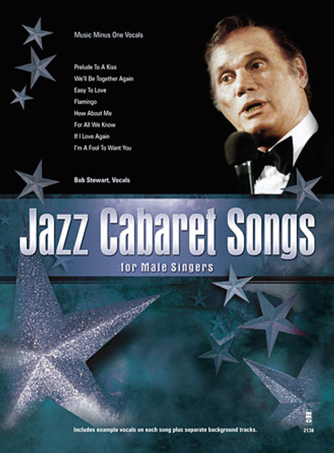 Jazz Cabaret Songs For Male Singers - Music Minus One Vocals