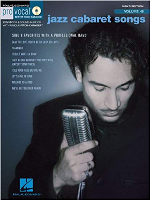 Jazz Cabaret Songs Men's Edition - Pro Vocal Vol 48