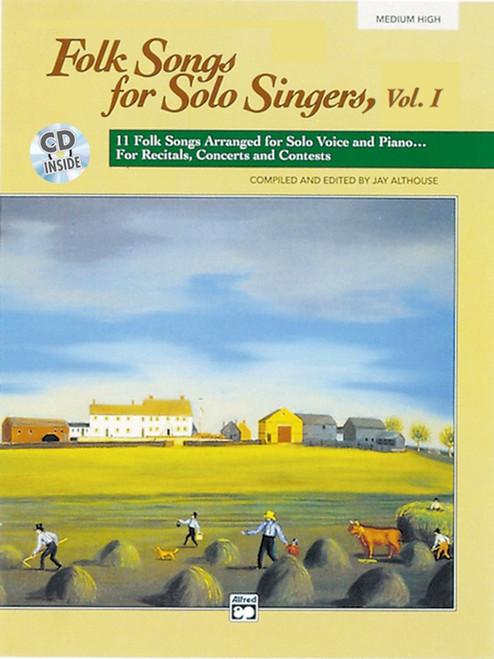 Folk Songs for Solo Singers Vol. 1 (Medium High Voice) w/CD