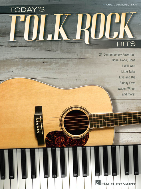 Today's Folk Rock Hits - Piano / Vocal / Guitar